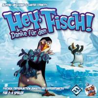 2014 im Sortiment des Heidelberger Spieleverlags: Hey, danke für den Fisch!