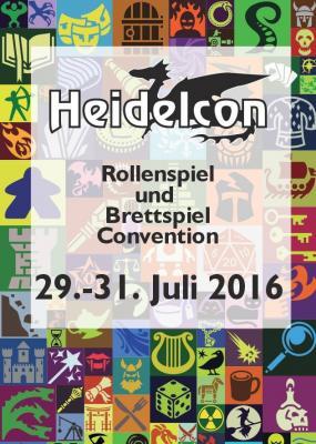 Flyer der Heidelcon 2016 (vorne)